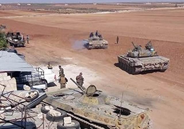 Binh sĩ Quân đội syria tại thị trấn Souran, Hama