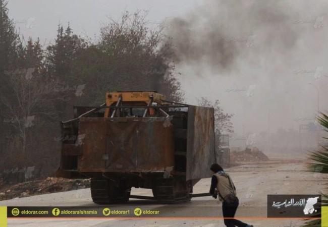 Xe đánh bom tự sát của lực lượng Hồi giáo cực đoan