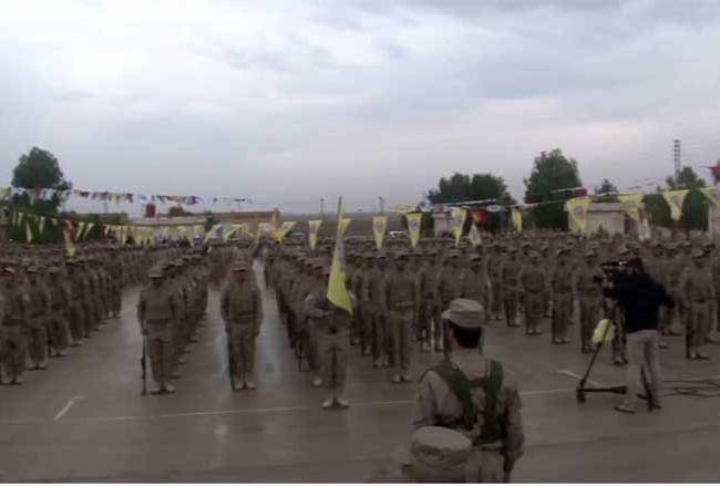 Lực lượng binh sĩ người Kurd