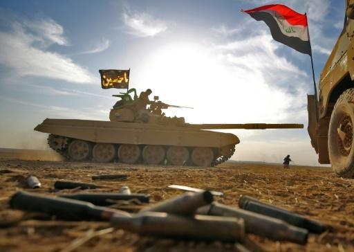 Các lực lượng vũ trang Iraq tiến về Mosul