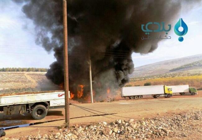 Hậu quả vụ tấn công bằng tên lửa hoặc tập kích đường không vào trạm kiểm soát của lực lượng dân quân người Kurd