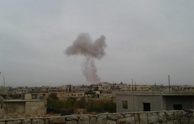 Không quân Nga không kích các mục tiêu then chốt ở Idlib