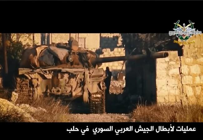 Các cuộc đọ súng diễn ra liên tục trên chiến trường Syria