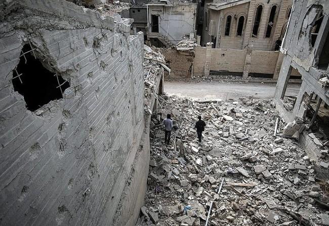 Hoang tàn thành phố Aleppo sau trận chiến