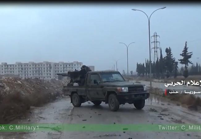 Quân đội Syria giải phóng Tổ hợp Khu nhà thanh niên ở Aleppo
