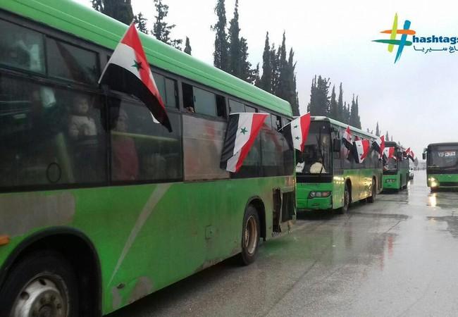 Người dân Syria trở về quận Hanano tái thiết lại khu phố quê hương của minh