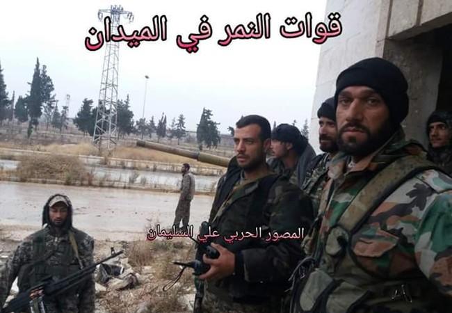 Binh sĩ lực lượng Tigers sau trận đánh thành công ở quân Ma'asaraniyah