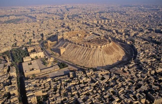 Khu thành cổ lịch sử thành phố Aleppo