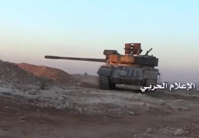 Xe tăng quân đội Syria tấn công ác liệt lực lượng Hồi giáo cực đoan trên vùng ngoại vi thành phố Cổ Aleppo