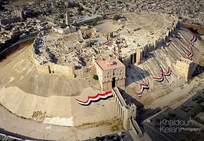 Thành cổ Aleppo (ảnh minh họa)