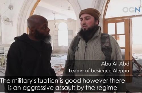 Chiến lược gia trưởng của Thánh chiến ở Aleppo.