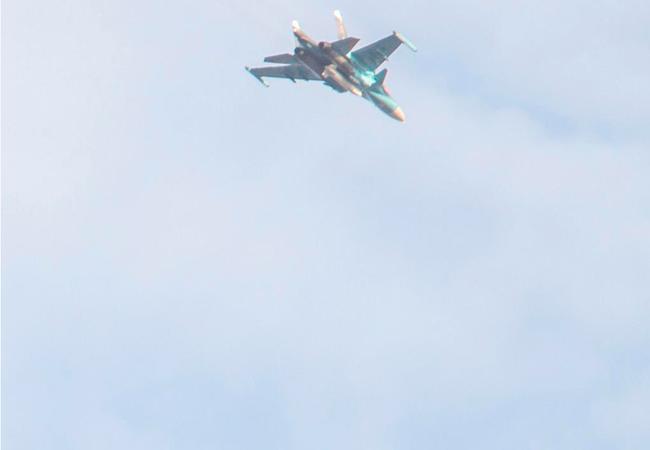 Không quân Nga không kích trên chiến trường tỉnh Homs