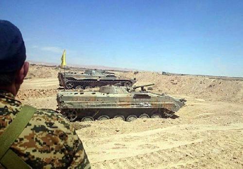 Lực lượng Hezbollah chuẩn bị tham chiến trên chiến trường tỉnh Homs