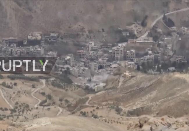 Khu vực Wadi Barada thuộc vùng ngoại ô Damascus