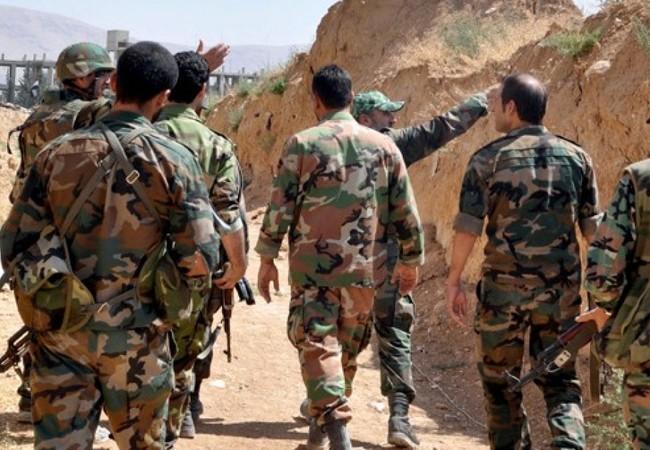 Binh sĩ sư đoàn cơ giới số 4 trên chiến trường Damascus