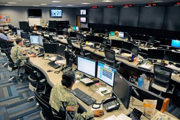 Phòng tác chiến không gian mạng Bộ quốc phòng Mỹ ở Fort Gordon, bang Georgia