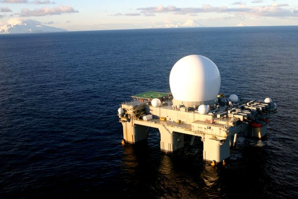Trạm radar trên biển X-Band (SBX)