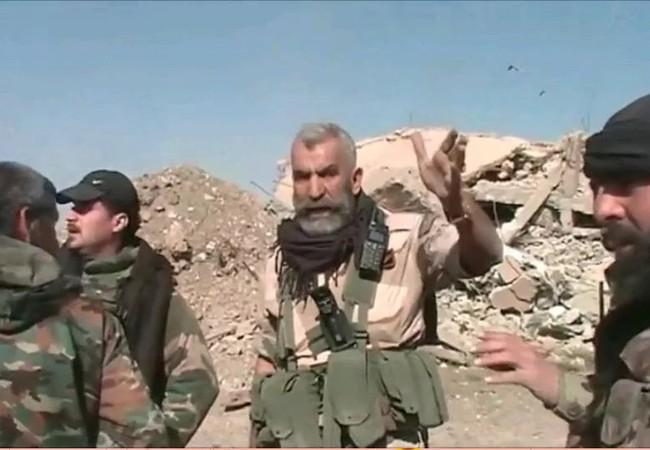 Chuẩn tướng Issam Zahreddine, chỉ huy lực lượng Vệ binh Cộng hòa phòng thủ Deir Ezzor