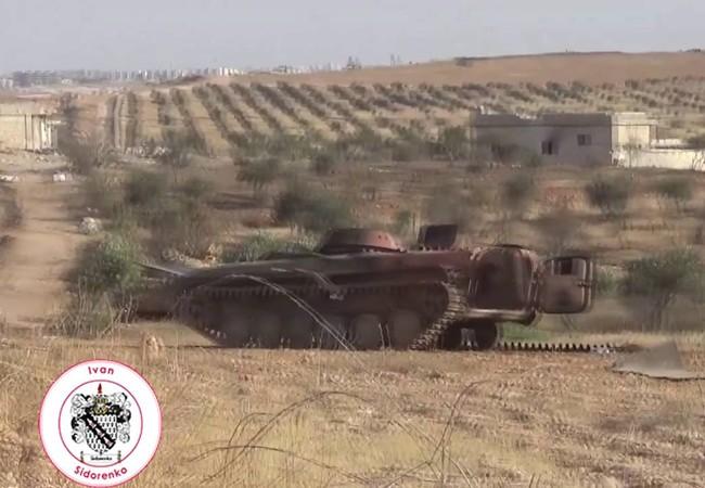 Lực lượng Tigers tấn công trên hướng đông thành phố Aleppo