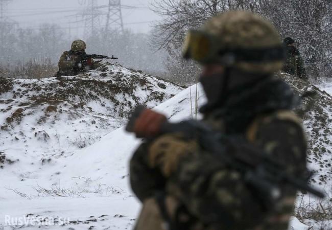 Binh sĩ lực lượng dân quân Donetsk trên chiến tuyến