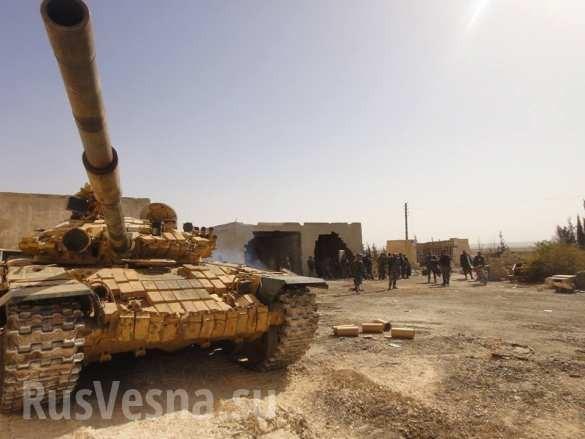 Xe tăng lực lượng Tigers tấn công trên miền đông Aleppo