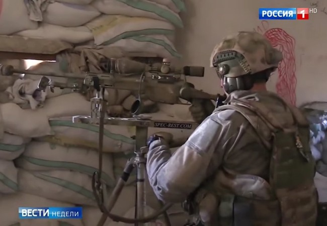 Đặc nhiệm bắn tỉa Nga ở Syria