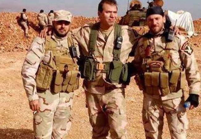 Binh sĩ lữ đoàn Diều hâu Sa mạc trên chiến trường Palmyra