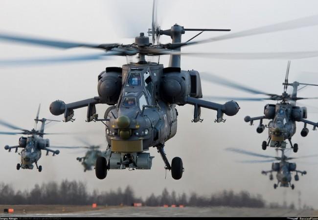 Máy bay trực thăng Mi-28 của không quân Nga