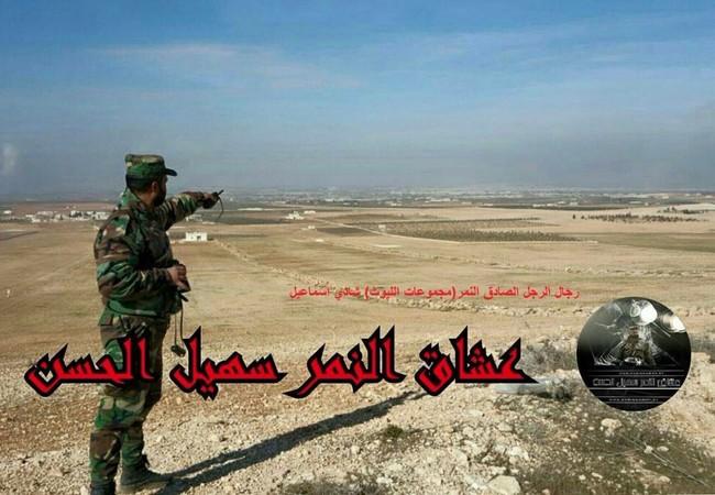 Tướng Suheil Salman al-Hassan chỉ huy Tiger trên chiến trường Al-Bab