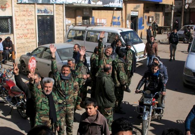 Quân đội Syria tăng cường phá vây ởDeir Ezzor