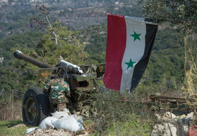 Pháo binh quân đội Syria (ảnh minh họa)