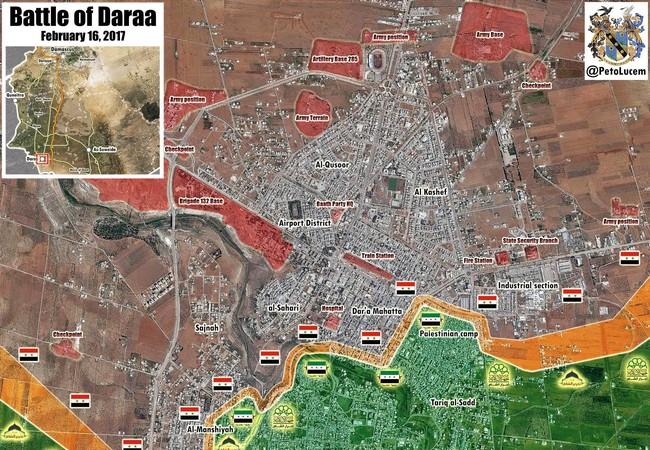 Chiến tuyến thành phố Daraa