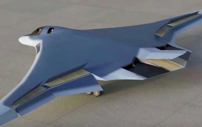Mô phỏng 3D mẫu máy bay ném bom PAK-DA