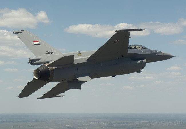 Máy bay tiêm kích đa nhiệm F-16 của Iraq