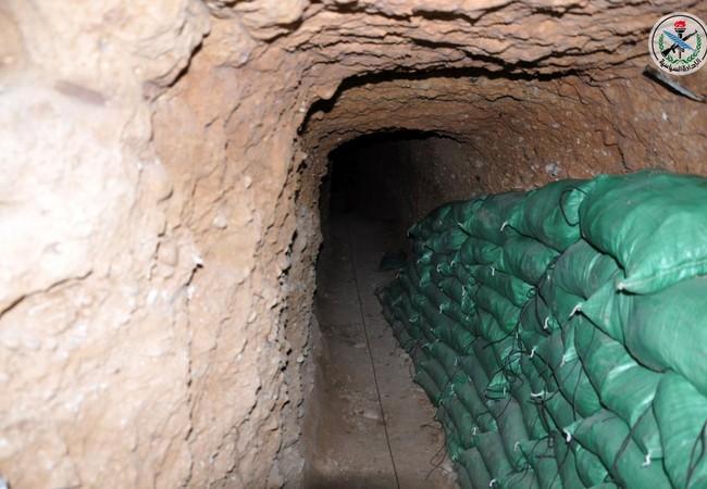 Đường hầm bị quân đội Syria phát hiện trên vùng ngoại ô Damascus