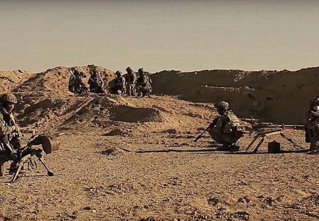 Lực lượng đặc nhiệm Nga trên chiến trường Palmyra