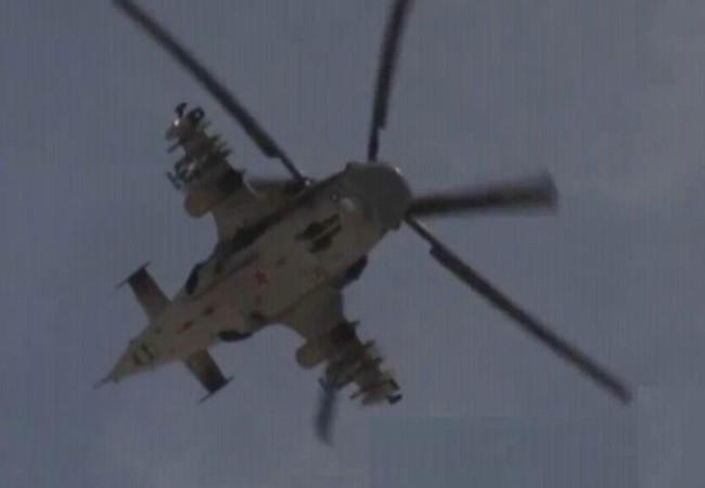 Trực thăng Ka-52 chiến đấu trên chiến trường Palmyra