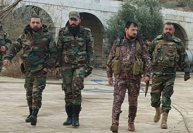 Thiếu tướng Suheil al-Hassan trên chiến trường Aleppo
