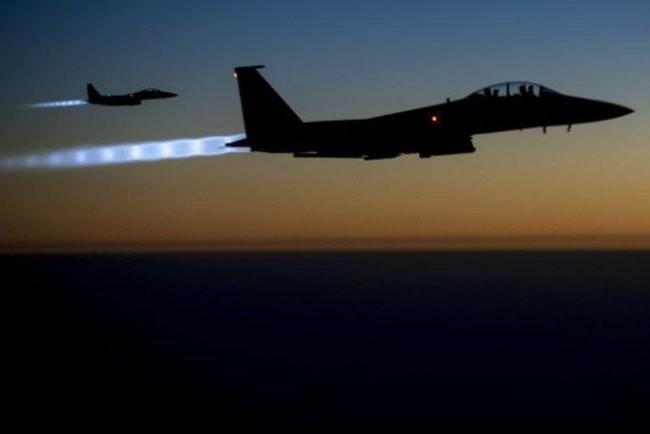 Máy bay Mỹ trên chiến trường Syria