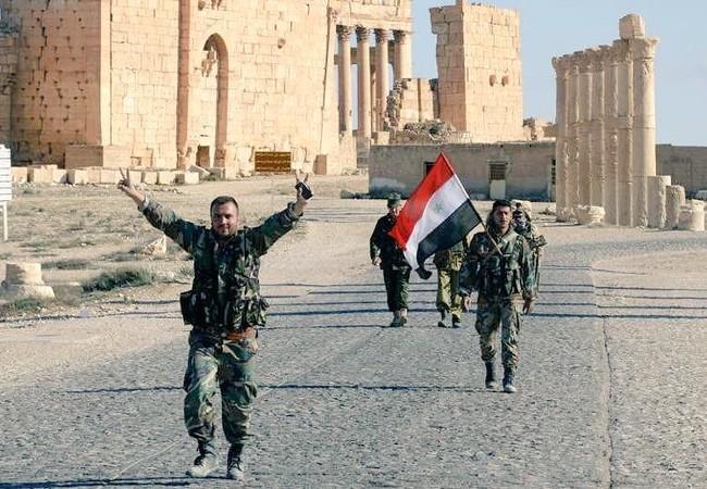 Thành cổ Palmyra hoàn toàn giải phóng