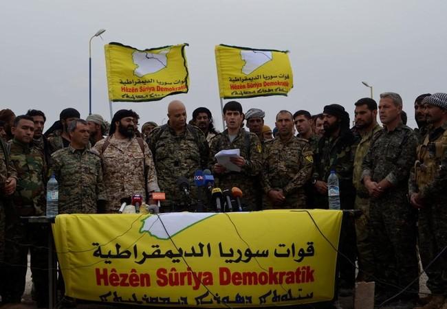 Lực lượng Dân chủ Syria ra tuyên bố về bàn giao địa bàn cho quân đội Syria