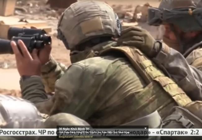 Lính đặc nhiệm Nga trên chiến trường Palmyra