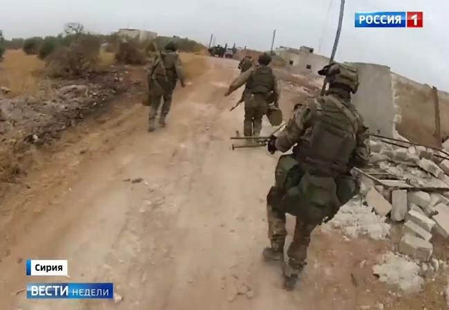 Đặc nhiệm Nga ở chiến trường Syria