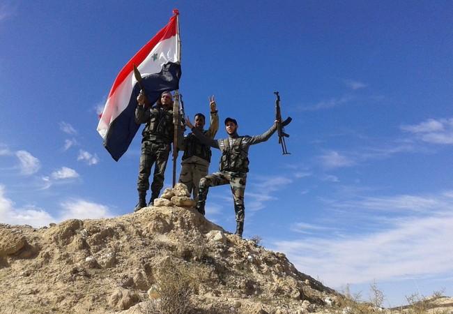 Binh sĩ lực lượng vũ trang địa phương trên chiến trường Aleppo