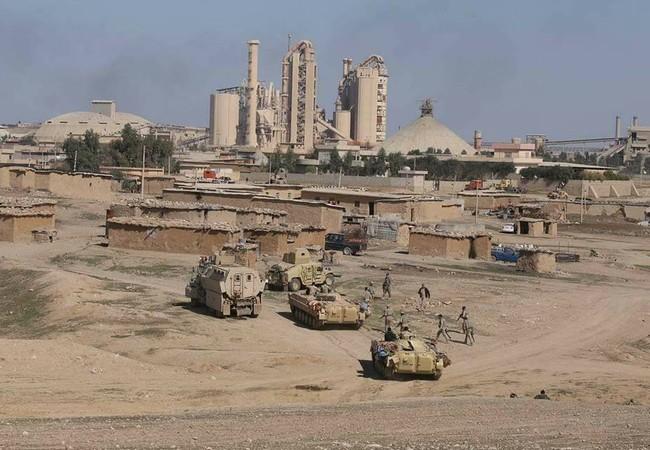 Quân đội Iraq bắt sống 87 tay súng
