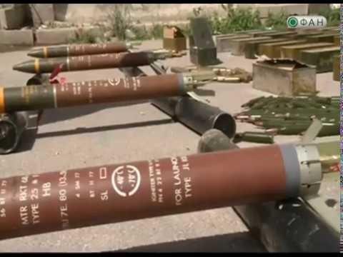 Quân đội Syria thu giữ một số lượng lớn vũ khí đạn dược vận chuyển cho phiến quân ở Damascus