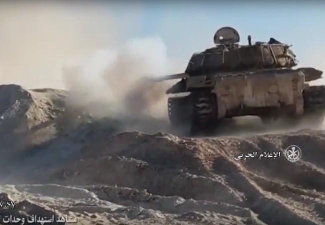 Quân đội Syria trên chiến trường thành phố Deir Ezzor
