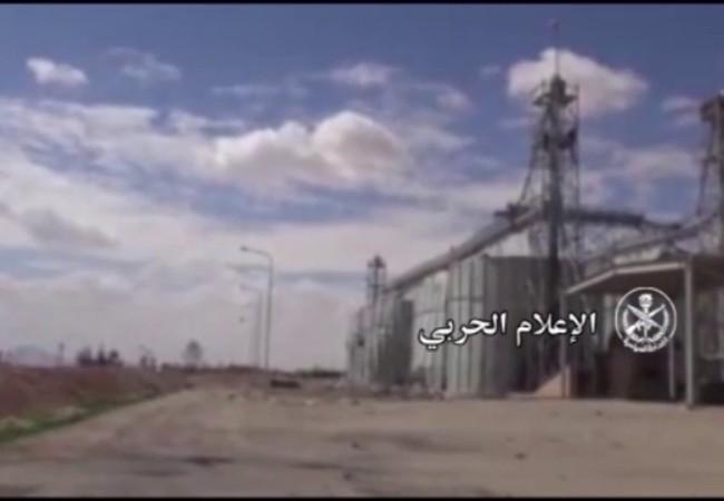 Quân đội Syria giải phóng khu nhà kho lương thực Silo Palmyra