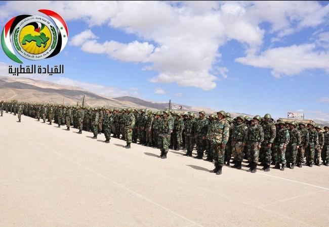 Đơn vị đầu tiên của lực lượng quân đoàn tình nguyện số 5 quân đội Syria, đội ngu tương tự quân đội Nga