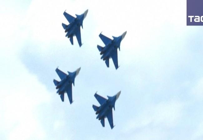Đội bay Tráng sĩ Nga ở Malaisia